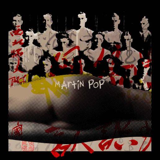 lookatme af popartkunstner Martin Pop. Dansk kunst.