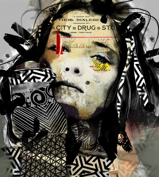 popface. portræt af martin pop